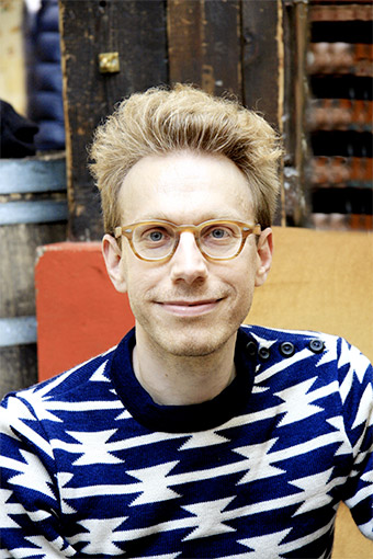Portrait photo of Daniel Tammet by photographer Jérôme Tabet