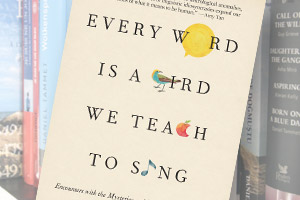 Cover of Every Word is a Bird We Teach to Sing